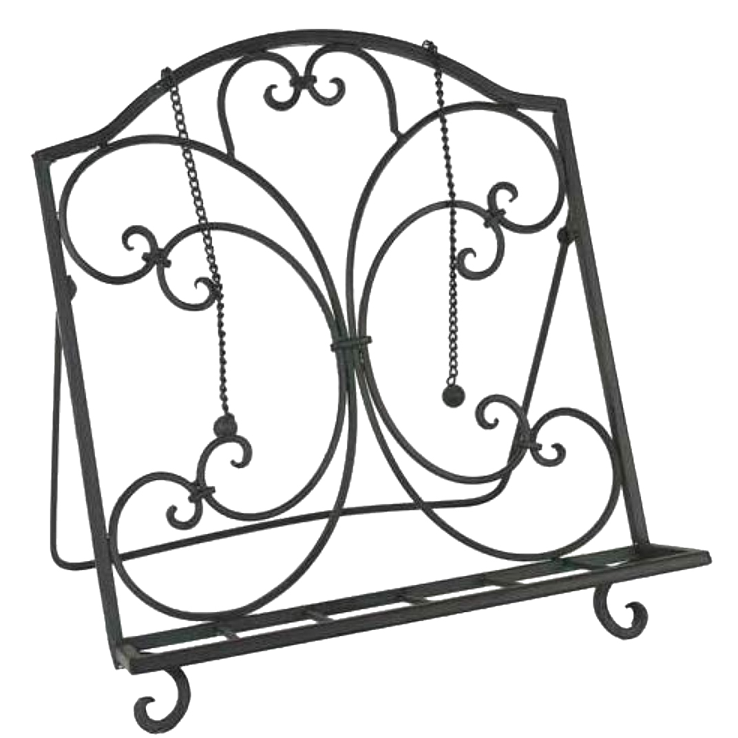French Country Vintage Kitchen Wrought Iron DARK Recipe