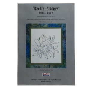 Sewing Embroidery Crafting Stitchery Kit ROSELLAS 2 Includes Fabric New