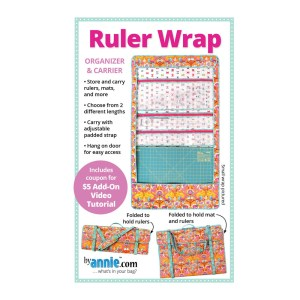 Quilting Sewing Patchwork RULER WRAP Pattern By Annie New