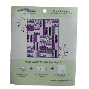 Quilting and Sewing Pattern URBAN ROSE QUILT Mini Pattern New