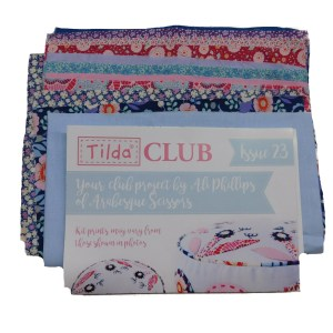 Tilda Club 3/19 Issue 23 Quilting Sewing Fabric Issue Craft Pattern Kit New