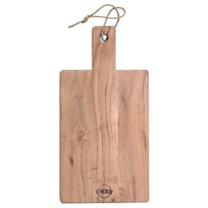 French Country Kitchen Natural Wooden Paddle Chopping Serving Board New