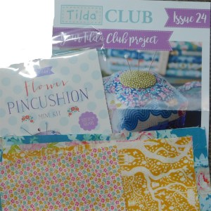 Tilda Club 05/19 Issue 24 Quilting Sewing Fabric Issue Craft Pattern Kit New