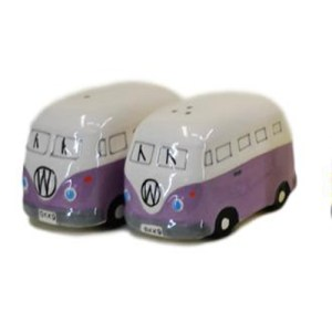 French Country Collectable Novelty Kitchen Kombi PURPLE Salt and Pepper Set New