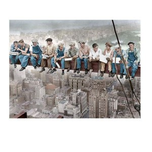 5D Diamond Painting Full Image Square Drills CITY WORKERS 30x40cm New