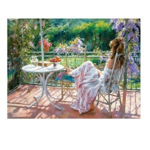 5D Diamond Painting Full Image Square Drills AFTERNOON GIRL 40x50cm New