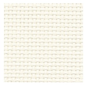 Cross Stitch ECRU CREAM Aida Cloth 14ct Size 55x30cm New X Stitch Fabric
