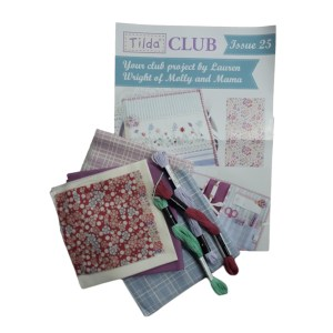 Tilda Club 07/19 Issue 25 Quilting Sewing Fabric Issue Craft Pattern Kit New