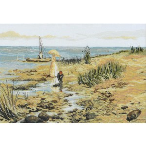 Country Threads Cross Stitch MOYES BAY Kit New X Stitch FJ-4016