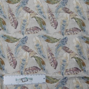 Quilting Patchwork Sewing Fabric FEATHERS 50x55cm FQ Material New