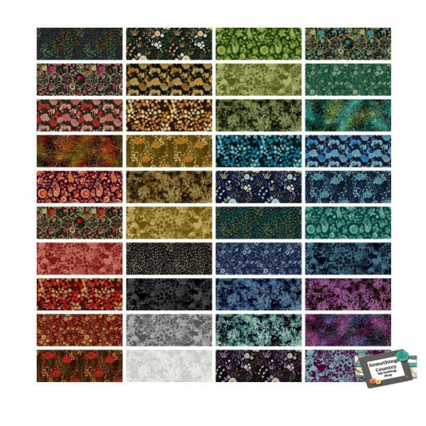 Quilting LAYER CAKE Patchwork GARDEN DELIGHTS 3 - 10 Inch Sewing Fabrics New