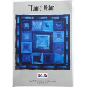 Quilting Sewing Quilt Pattern TUNNEL VISION Patchwork Pattern Batiks New