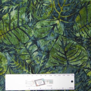 Quilting Patchwork Sewing Fabric BATIK RAINFOREST JUNGLE 50x55cm FQ New