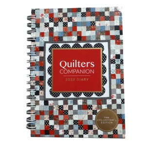 2020 Quilters Companion Diary A5 Size Spiral Bound Journal Week View New