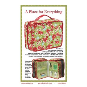 Quilting Sewing Patchwork By Annie A PLACE FOR EVERYTHING Pattern New