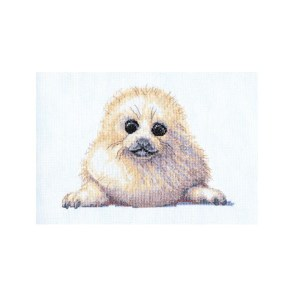 My Cross Stitch ANIMAL MAGIC SEAL PUP Kit New X Stitch 057132