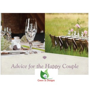 Wedding Decorations Advice for the Happy Couple Table Cards Pack of 20 New