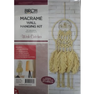 Creative Macrame Kit WISH CATCHER Make your Own Wall Hanger New