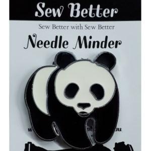 Sew Better Cross Stitch Embroidery Needle Minder Keeper PANDA