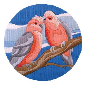 Country Threads Long Stitch Kit GALAH FLS-5011 Inc Threads