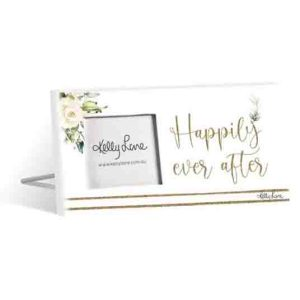 Standing Occasions HAPPILY EVER AFTER 3x3inch Photo Frame