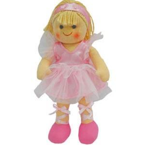 Hopscotch Soft Rag Doll ALEXA Dressed Girl Doll Medium 25cm