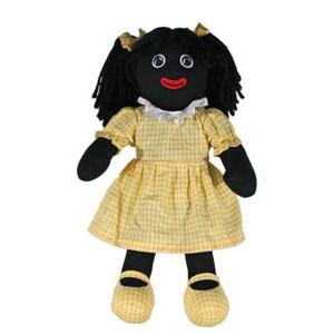 Hopscotch Lovely Soft Rag Doll GLADYS Girl Dressed Doll Large 35cm
