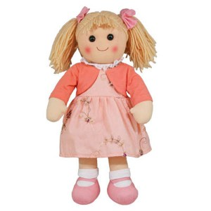 Hopscotch Lovely Soft Rag Doll GEORGIA Girl Dressed Doll Large 35cm