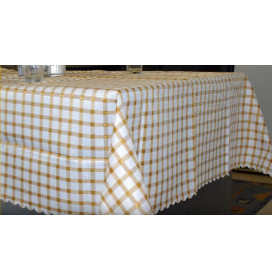 French Country Kitchen Table Cloth SAPPHIRE Tablecloth Large 150x320cm
