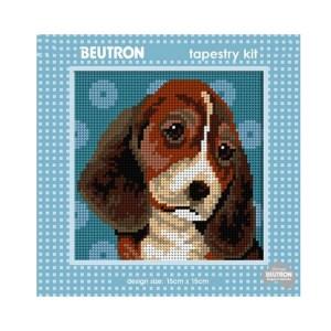 Beautron Handmade Tapestry Kit Beginner BEAGLE DOG 585109