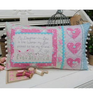 Quilting Sewing Cushion Pattern DAUGHTER IN LAW Rivendale Collection