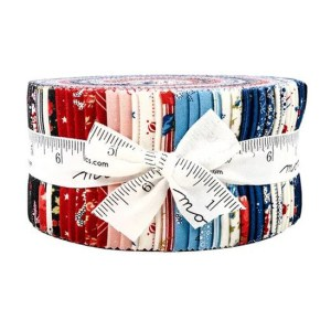 Quilting Jelly Roll Patchwork MODA HARBOR SPRINGS 2.5 Inch Sewing Fabrics