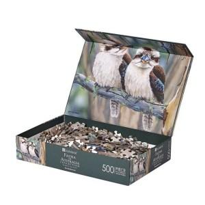 Australian Wildlife Fauna Kookaburras Jigsaw Puzzle