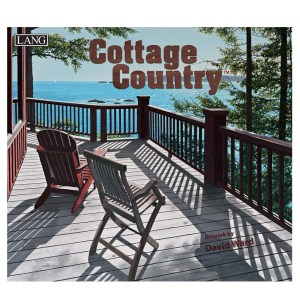 Lang 2021 Calendar COTTAGE COUNTRY Calender Fits Wall Frame
