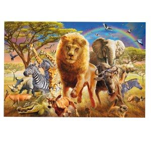 5D Diamond Painting Full Image Squares AFRICAN FAMILY 1 60x40cm