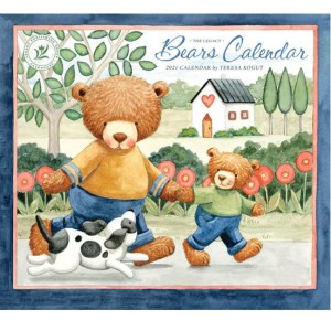 Legacy 2021 Calendar BEARS Calender Fits Lang Wall Frame