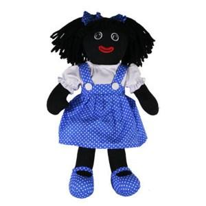 Hopscotch Lovely Soft Rag Doll BECKY Girl Dressed Doll Large 35cm