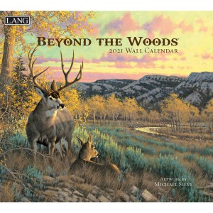 Lang 2021 Calendar BEYOND THE WOODS Calender Fits Wall Frame