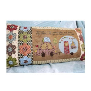 The Birdhouse Designs Sewing CARAVAN Cushion Pattern