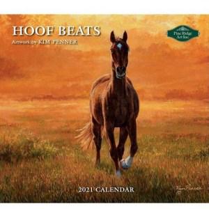 Pine Ridge 2021 Calendar HOOF BEATS Calender Fits Lang Wall Frame
