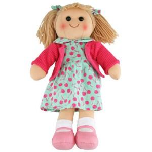 Hopscotch Lovely Soft Rag Doll ISABELLA Girl Dressed Doll Large 35cm