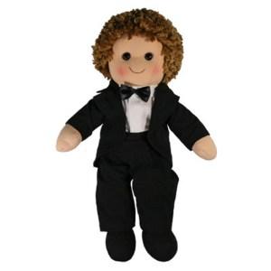 Hopscotch Lovely Soft Rag Doll JAMES Boy Dressed Doll Large 35cm