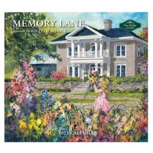 Pine Ridge 2021 Calendar MEMORY LANE Calender Fits Lang Wall Frame