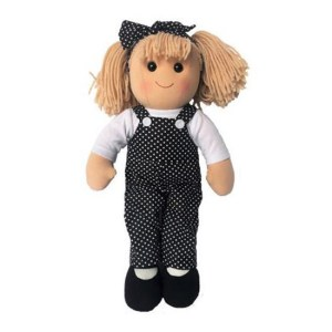 Hopscotch Lovely Soft Rag Doll MOLLIE Girl Dressed Doll Large 35cm