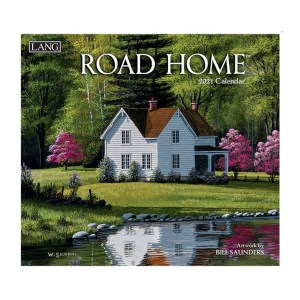 Lang 2021 Calendar ROAD HOME Calender Fits Wall Hanging Frame