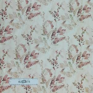 Quilting Patchwork Fabric JASMINES GARDEN FERN 50x55cm FQ Material