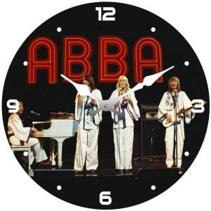 Clock French Country Wall Clocks 17cm ABBA Mamma Mia Band Small