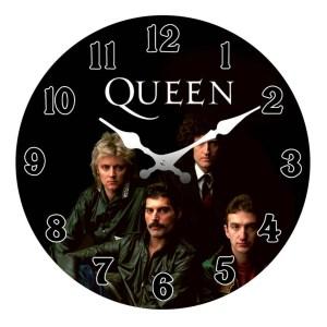Clock French Country Wall Clocks 17cm QUEEN Bohemian Rhapsody Small