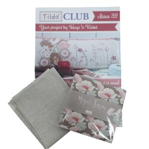 Tilda Club 9/20 Issue 32 Quilting Sewing Fabric Issue Craft Pattern Kit New