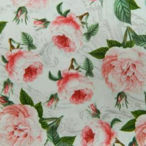 Patchwork Quilting Fabric ROMANTIC ROSES Material Sewing Cotton FQ 50x55cm NEW